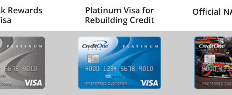www.creditoneincrease.com – Credit One Account Services