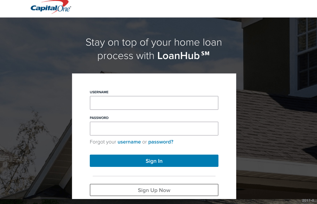 loanhub.capitalone.com – Access Home Loan with Loan Hub
