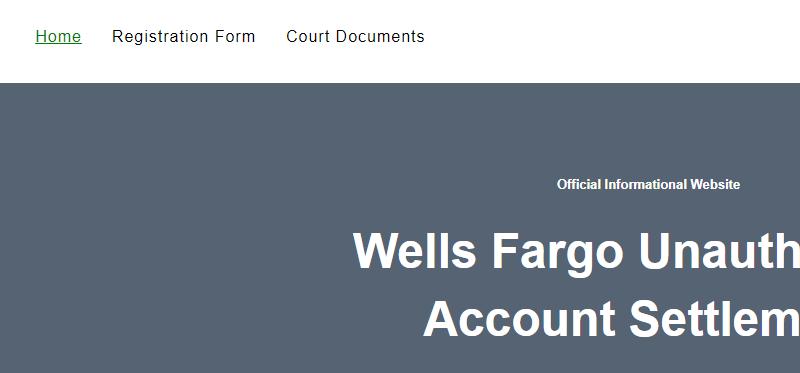 www.wfsettlement.com – File Claim in $142 Million Dollar Settlement